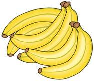 banany niektóre Fotografia Royalty Free