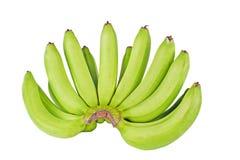 banany odizolowane białe tło Fotografia Royalty Free