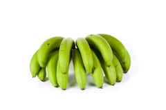 banany odizolowane białe tło Zdjęcie Royalty Free