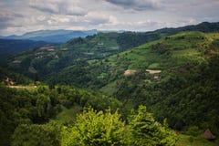 Banat landscape Royalty Free Stock Image