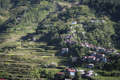 Banaue山城镇luzon菲律宾 免版税库存图片