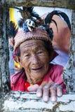banaue colorido Filipinas do igorot Imagem de Stock