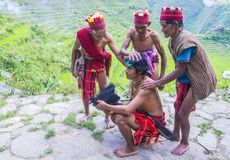 Ifugao ethnic minority in the Philippines. BANAUE, PHILIPPINES - MAY 02 : People from Ifugao Minority in Banaue the Philippines on May 02 2018. The Ifugao Royalty Free Stock Image
