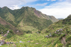 Banaue rice terraces in the Philippines. Stock Photo