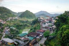 Banaue township in Ifugao, Philippines Stock Photos