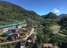 Banaue valley in Ifugao, Philippines Royalty Free Stock Images