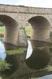 Banbrytande bro i Richmond, Tasmanien, Royaltyfria Foton