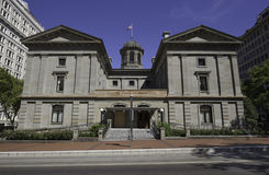 Banbrytande domstolsbyggnad, Portland, Oregon, USA 7/5/2015 Royaltyfri Foto