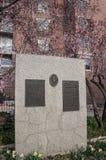 Banbrytande minnesmärke för mormon, i stadens centrum Salt Lake City, Utah arkivfoto
