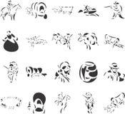 banbrytare stock illustrationer