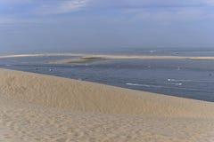 Banc Darguin Vu De La Dune De Pilat Image Stock Image Du Hors