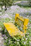 Banc de jardin Photographie stock