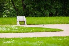 Banc de jardin de palais Photo libre de droits