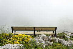 Banc de montagne Photo stock