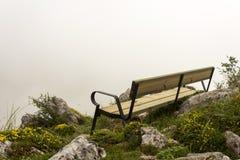 Banc de montagne Images libres de droits