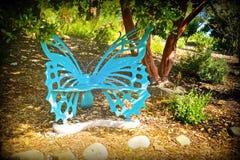 Banc de papillon Image stock