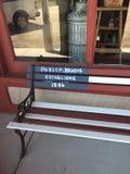 Banc de Paxico Photographie stock