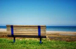 Banc de plage Image stock