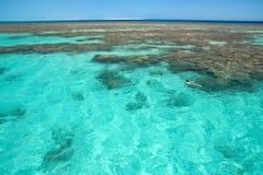 Banc de sable de la Mer Rouge Image libre de droits