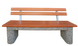 Banc de stationnement photo stock