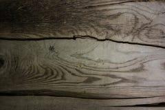 Banc de tronc d'arbre avec des lignes d'arbre Images libres de droits