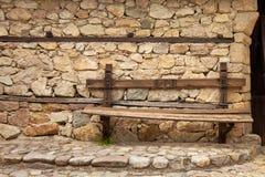 Banc de village Photographie stock libre de droits