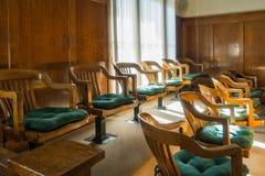 Banc des jurés Photo libre de droits