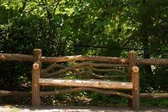 Banc en bois Photographie stock