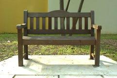Banc en bois Image libre de droits