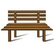 Banc en bois illustration libre de droits