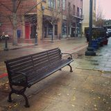Banc froid Image stock