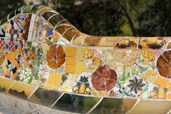 Banc Gaudi Photos stock