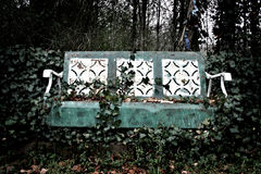 Banc rustique Photo stock