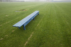 Banc vide Photos stock