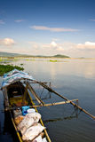 Banca. On Laguna lake, stocked up with supplies Royalty Free Stock Image