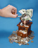 Banca americana Immagine Stock