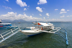 Banca boat Stock Photography