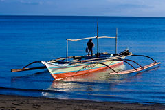Banca boat Stock Photo