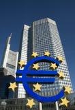 Banca Centrale Europea Fotografia Stock Libera da Diritti