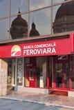 Banca Comerciala Feroviara Stock Image
