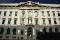Banca Commerciale Italiana in Milan, Italy Royalty Free Stock Photo