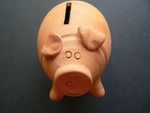 Banca dei soldi Fotografie Stock
