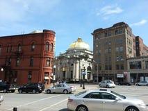 Banca della cupola dell'oro Immagini Stock