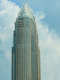Banca di America/nuvole Fotografie Stock Libere da Diritti