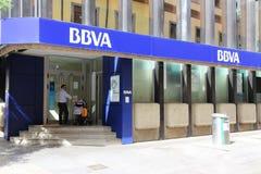 Banca di BBVA Immagine Stock