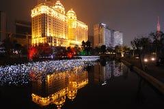 Banca di Cina agricola a guangzhou Immagine Stock