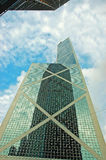 Banca di Cina, Hong Kong Fotografie Stock