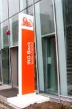 Banca di Ing Immagini Stock Libere da Diritti