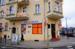 Banca di Ing Fotografie Stock Libere da Diritti