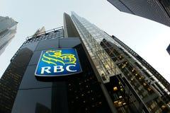 Banca di RBC Fotografie Stock